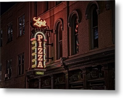 Luigi's Pizza Metal Print