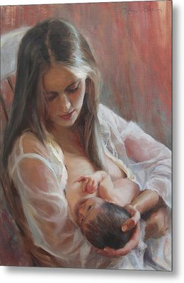 Lullaby Metal Print by Anna Rose Bain