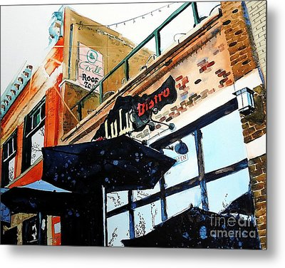 Lulu Asian Bistro Metal Print by Tom Riggs
