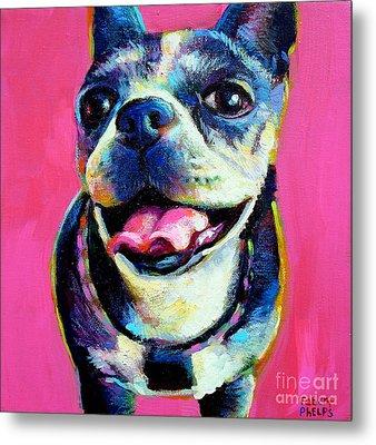 Metal Print featuring the painting Lulu by Robert Phelps