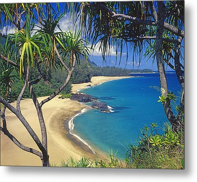 Lumahai Beach Metal Print