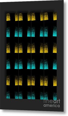 Metal Print featuring the digital art Luminescence 7a by Darla Wood