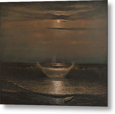 Lunar Apparition Metal Print by Blue Sky