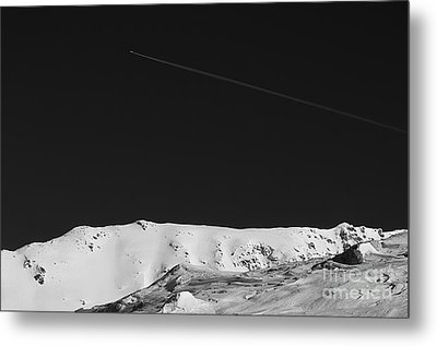 Lunar Landscape Metal Print by Simona Ghidini