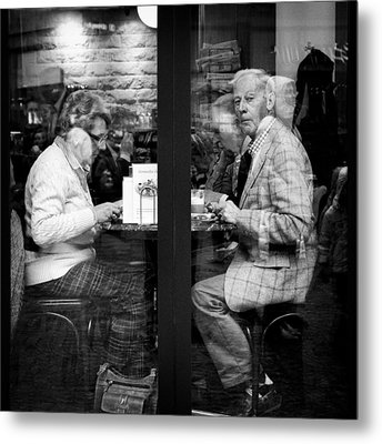 Lunch Metal Print by Dave Bowman