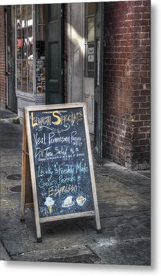 Lunch Specials Metal Print by Brenda Bryant