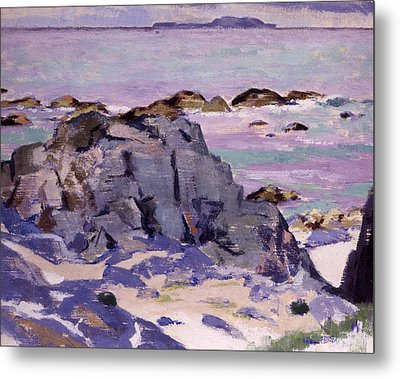 Lunga From Above Mermaids Metal Print by Francis Campbell Boileau Cadell