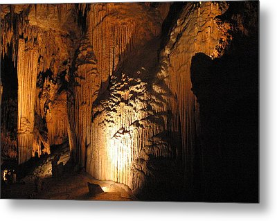 Luray Caverns - 121280 Metal Print by DC Photographer