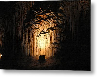 Luray Caverns - 121288 Metal Print by DC Photographer
