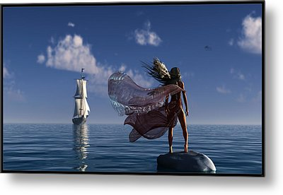 Lure Of The Siren... Metal Print