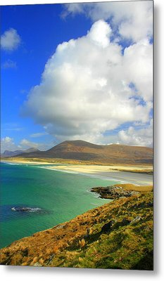 Luskentyre Beach  Metal Print by The Creative Minds Art and Photography