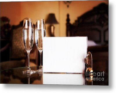 Luxury Hotel Room Metal Print by Michal Bednarek