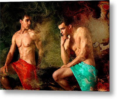Luxury Metal Print by Mark Ashkenazi