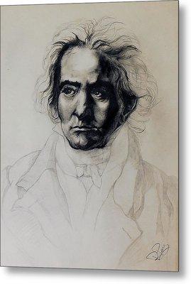 L.v. Beethoven Metal Print