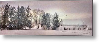 Lykens Valley Farm Metal Print by Lori Deiter
