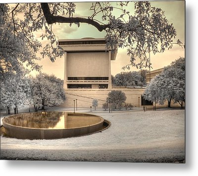 Lyndon B Johnson Presidential Library Metal Print by Jane Linders