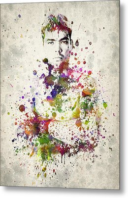 Lyoto Machida Metal Print