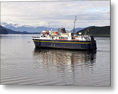 Metal Print featuring the photograph M/v Leconte by Cathy Mahnke