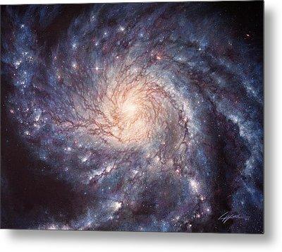 M101 Pinwheel Galaxy Metal Print