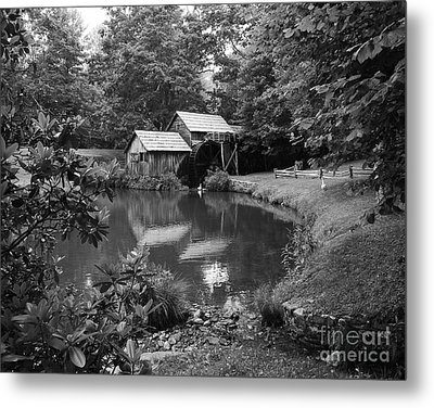 Mabry Mill 2 Metal Print by Mel Steinhauer