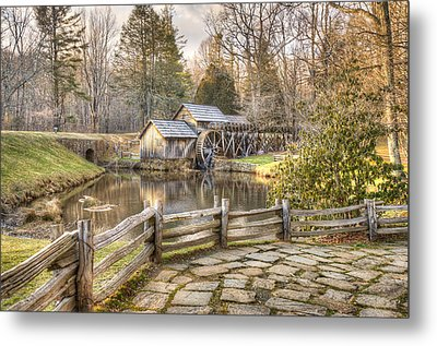Mabry Mill - Dan Virginia Metal Print by Gregory Ballos