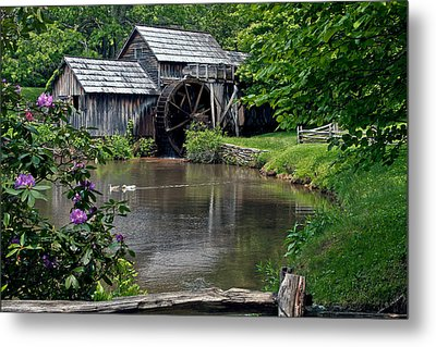 Mabry Mill In May Metal Print