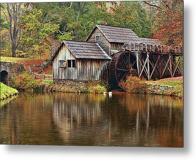 Mabry Mill Metal Print by Marcia Colelli