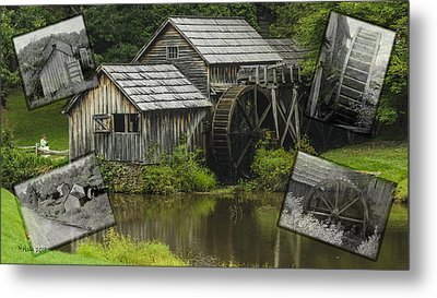 mabry Mill old and new Metal Print