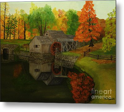 Mabry Mill Metal Print by Timothy Smith