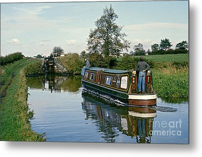 Macclesfield Canal 1975 Metal Print by David Davies