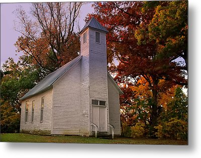 Macedonia Missionary Baptist Church Metal Print by Chris Flees