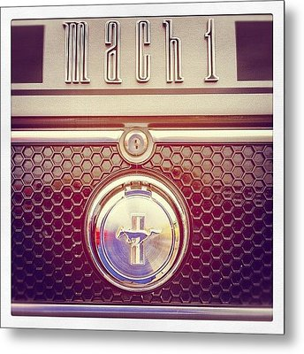 Mach 1 Metal Print by Mike Maher