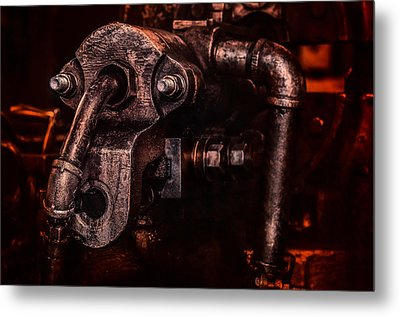 Machine Head Metal Print