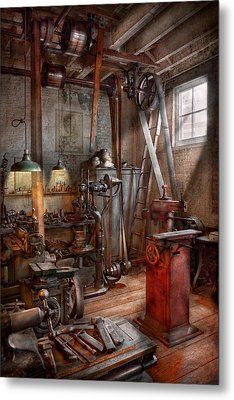 Machinist - The Modern Workshop  Metal Print