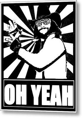 Macho Man Randy Savage Metal Print by Jason Kimble