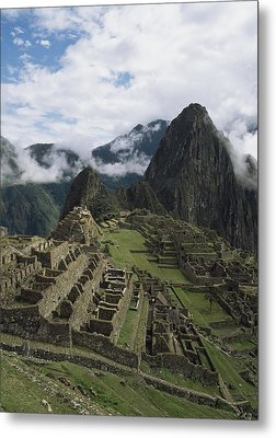 Machu Picchu Metal Print by Chris Caldicott