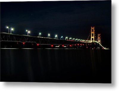 Mackinac Bridge Metal Print