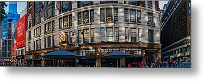 Metal Print featuring the photograph Macy's New York Panoramic by Chris McKenna