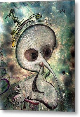 Mad  Her Evil Astral Soul Metal Print