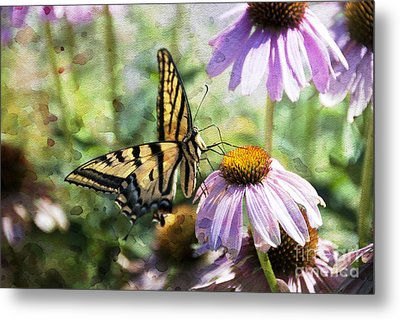 Madame Butterfly Metal Print by Juli Scalzi