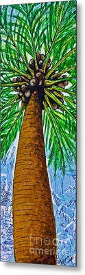 Metal Print featuring the mixed media Made In The Shade by Melissa Sherbon