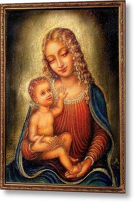 Madonna Beata Metal Print