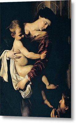 Madonna Di Loreto Metal Print by Caravaggio