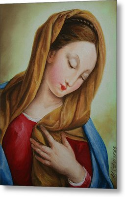 Madonna Metal Print by Marna Edwards Flavell
