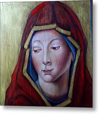 Madonna Of Peace Metal Print