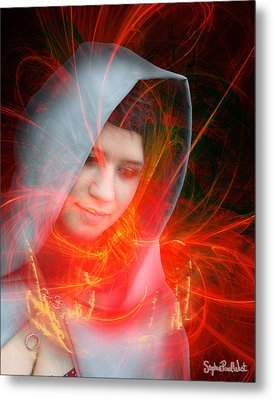 Madonna Of The Stars Metal Print by Stephen Paul West