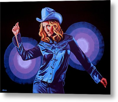 Madonna Painting Metal Print by Paul Meijering