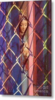 Madonna Photograph - The Virgin Metal Print by Sharon Hudson
