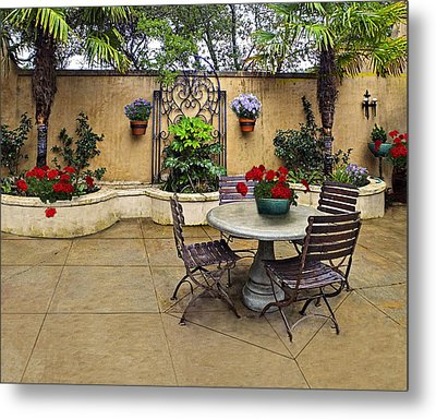 Madrones Wineries Metal Print by Judy  Johnson