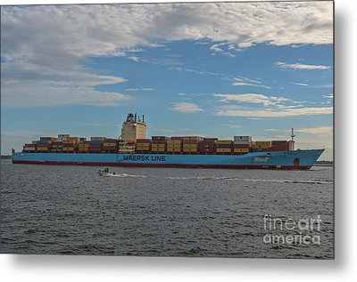 Maersk Line Beaumont Metal Print by Dale Powell